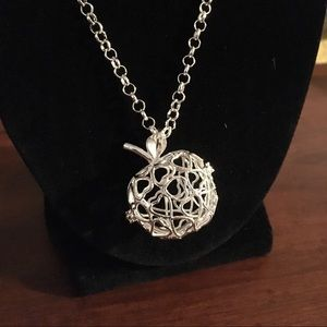 Jewelry - Silver diffuser necklace